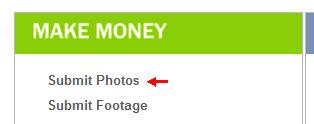 Загрузка фотографий в фотобанк