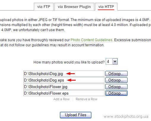 Загрузка векторных изображений